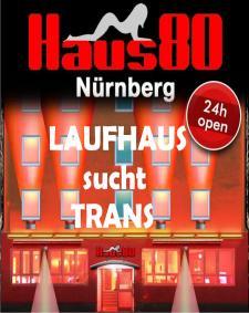 Vermietung in Nürnberg Deutschland Haus80 nur 120 km von  entfernt. Bei Transgirls.de