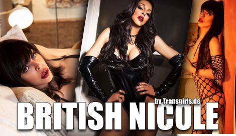 British Nicole XXL Shemale in Berlin bei Transgirls.com