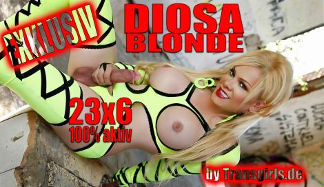 Premium Preview picture from TS Transe Diosa Blonde Shemale in Frankfurt am Main at Transgirls.com