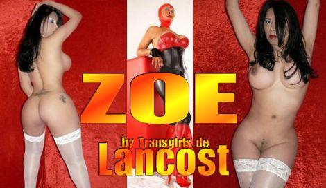 Transsexuelle Zoe Lancost