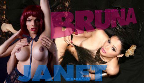 Transsexuelle Janet & Bruna