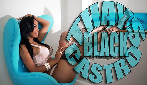 Transsexuelle Thays Castro Black