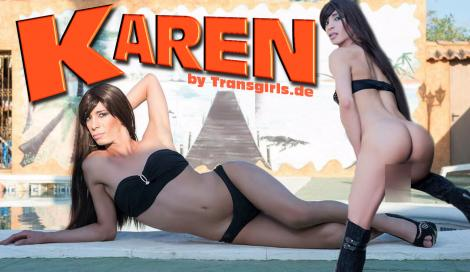 Premium Preview picture from TS Transe Karen Shemale in Berlin at Transgirls.com