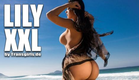 Lily XXL Shemale in Berlin bei Transgirls.com