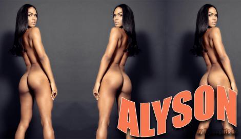 Alyson Shemale in Berlin bei Transgirls.com