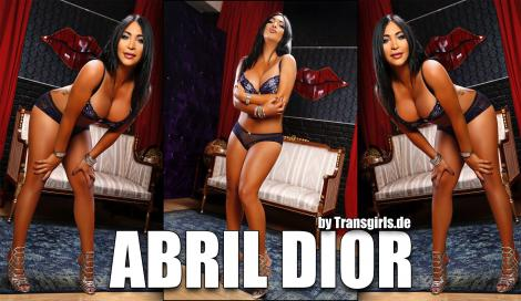 Abril Dior Shemale in Berlin bei Transgirls.com