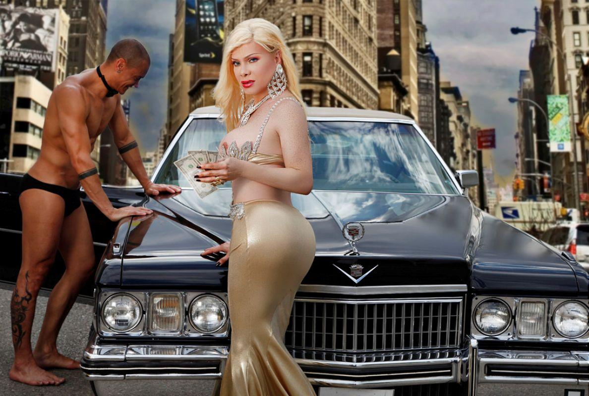 Foto Nr. 70104 von Shemale Trans Diosa Blonde